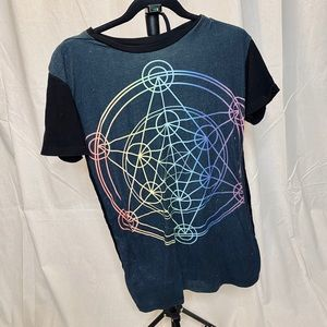 T-shirt dress sacred geometry